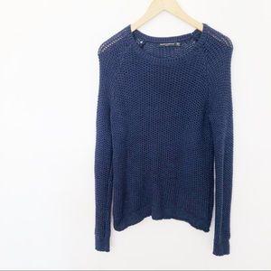 Brandy Melville Knit Blue Sweater